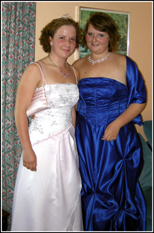 Nicola & Sarah off to the Prom